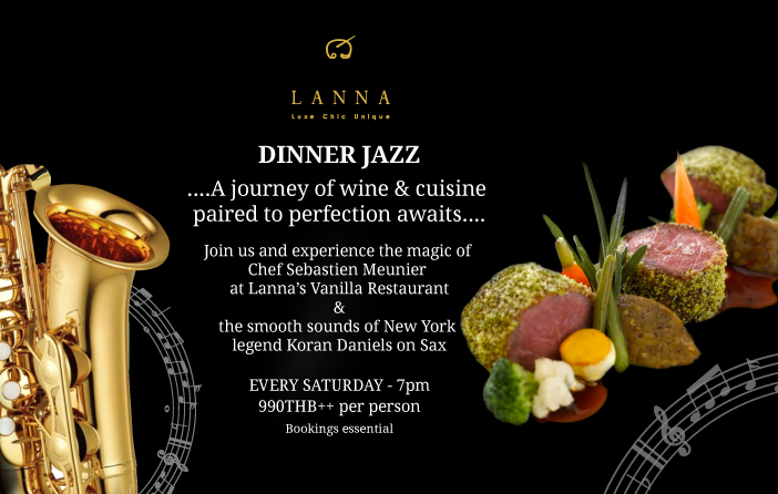 Lanna Chefs table promotion